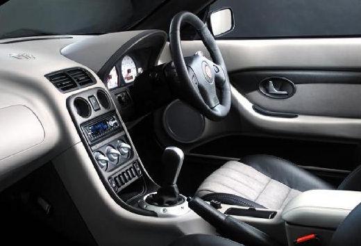 MG TF I roadster tablica rozdzielcza