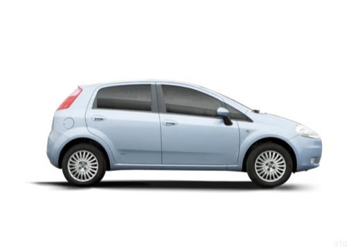 FIAT Punto Grande hatchback boczny prawy