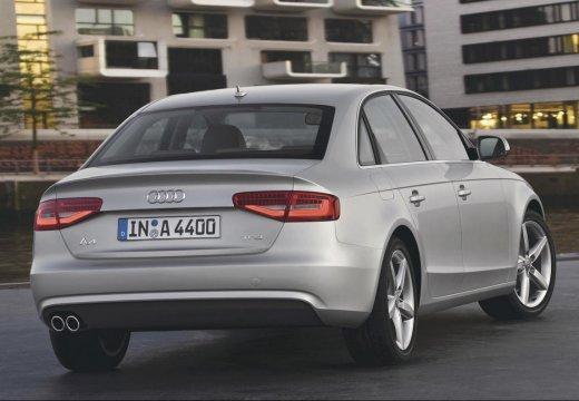 AUDI A4 B8 II sedan silver grey tylny prawy