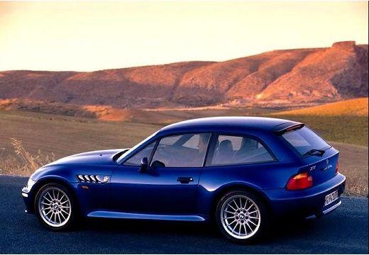 BMW Z3 coupe niebieski jasny tylny lewy