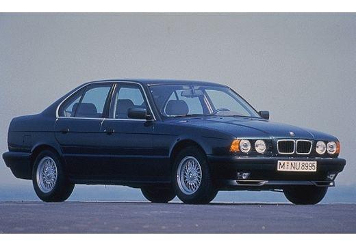 BMW Seria 5 E34 sedan szary ciemny przedni prawy