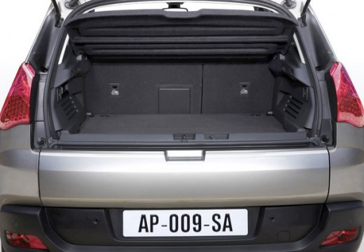 PEUGEOT 3008 I hatchback przestrzeń załadunkowa