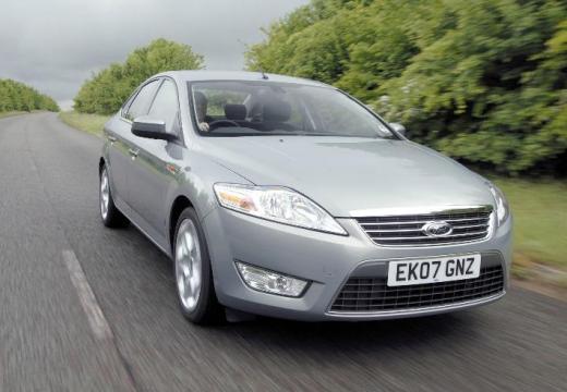 FORD Mondeo VI sedan silver grey przedni prawy