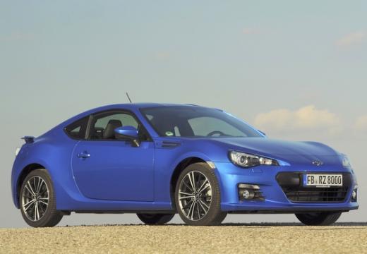 SUBARU BRZ coupe niebieski jasny przedni prawy