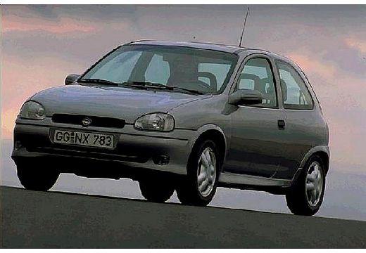 OPEL Corsa B hatchback silver grey przedni lewy