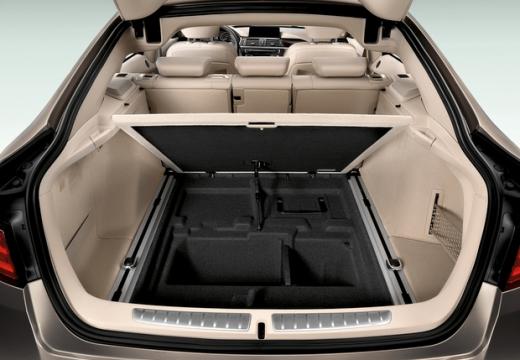 BMW Seria 3 Gran Turismo hatchback przestrzeń załadunkowa