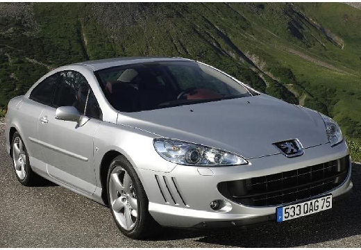 PEUGEOT 407 2.7HDi Sport aut n.gama Coupe 2.8 204KM (diesel)