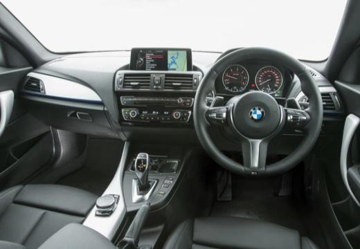 BMW Seria 1 F21 II hatchback tablica rozdzielcza