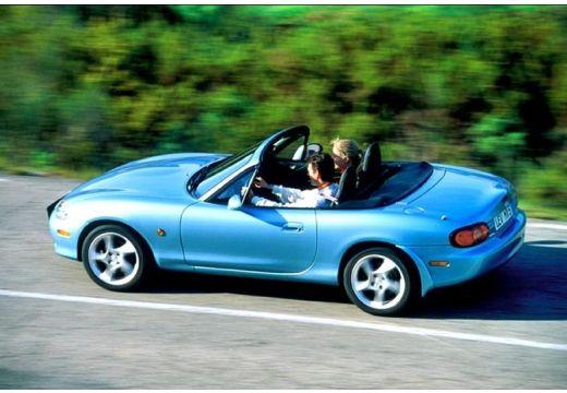 MAZDA MX-5 III roadster niebieski jasny tylny lewy