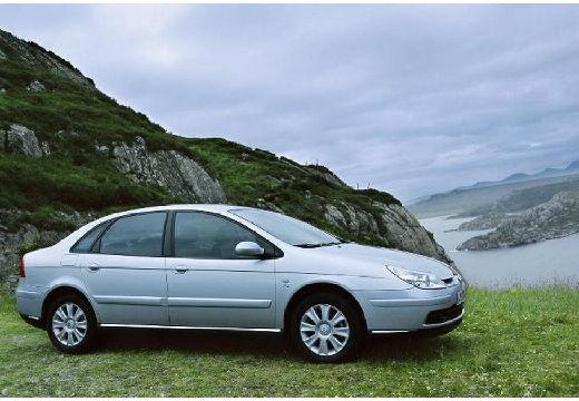 CITROEN C5 II hatchback niebieski jasny przedni prawy