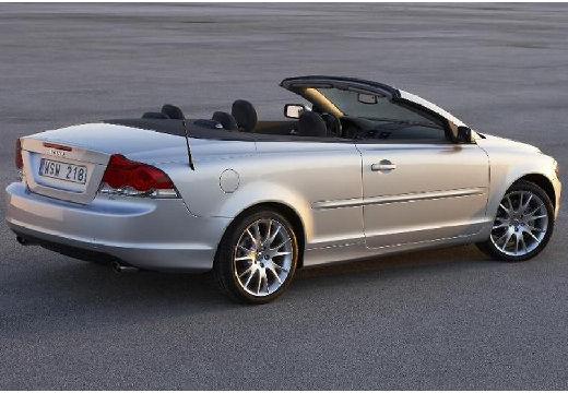 VOLVO C70 kabriolet silver grey tylny prawy