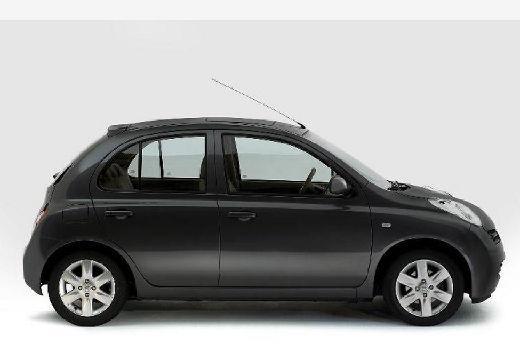 NISSAN Micra V hatchback szary ciemny boczny prawy