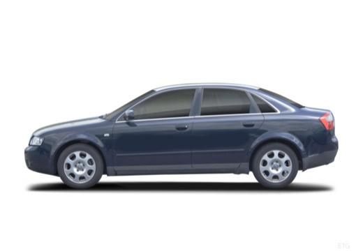 AUDI A4 8E I sedan boczny lewy