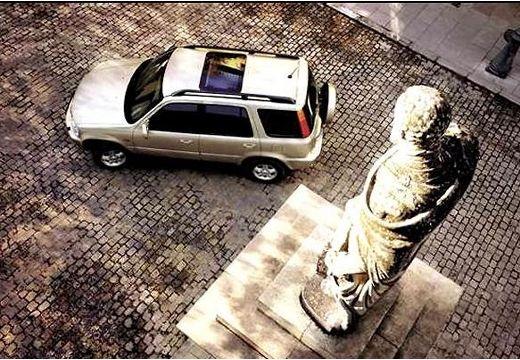 HONDA CR-V I kombi złoty boczny lewy