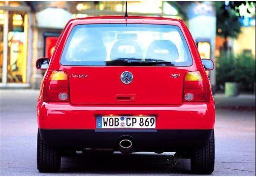 VOLKSWAGEN Lupo hatchback czerwony jasny tylny