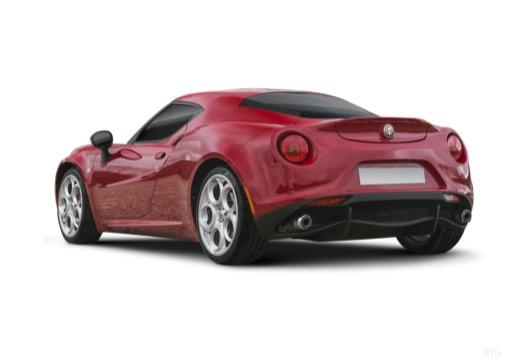 ALFA ROMEO 4C coupe tylny lewy
