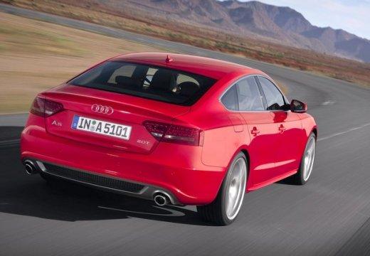 AUDI A5 Sportback I hatchback czerwony jasny tylny prawy