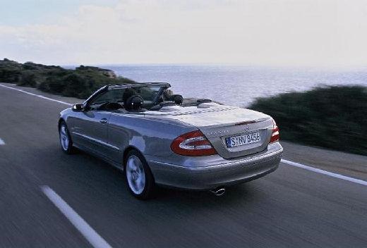 MERCEDES-BENZ Klasa CLK CLK Cabriolet A 209 I kabriolet silver grey tylny lewy