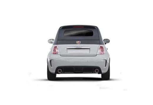 FIAT 500 C I kabriolet tylny