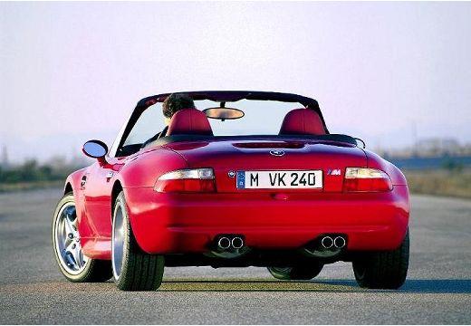 BMW Z3 roadster czerwony jasny tylny lewy
