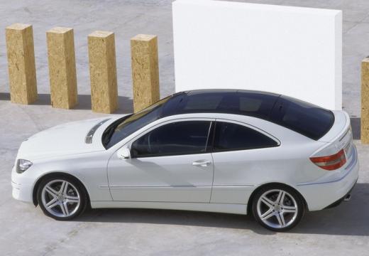 MERCEDES-BENZ Klasa CLC coupe biały boczny lewy