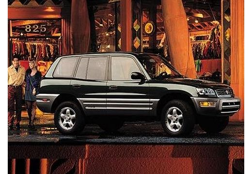 Toyota RAV4 Hardtop I kombi czarny przedni prawy