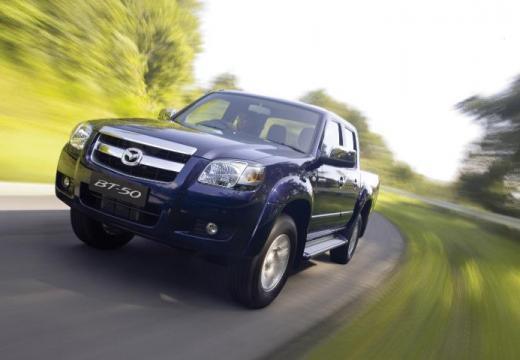 MAZDA B-seria pickup niebieski jasny przedni lewy