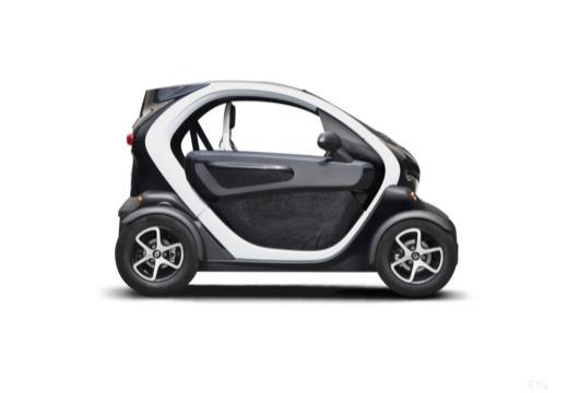 RENAULT Twizy hatchback boczny prawy