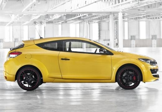RENAULT Megane III Coupe III hatchback żółty boczny prawy