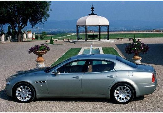 MASERATI Quattroporte II sedan silver grey boczny lewy