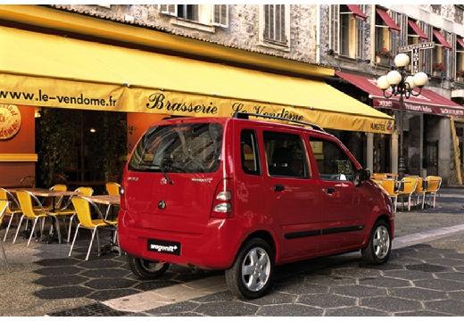 SUZUKI Wagon R+ II hatchback czerwony jasny tylny prawy