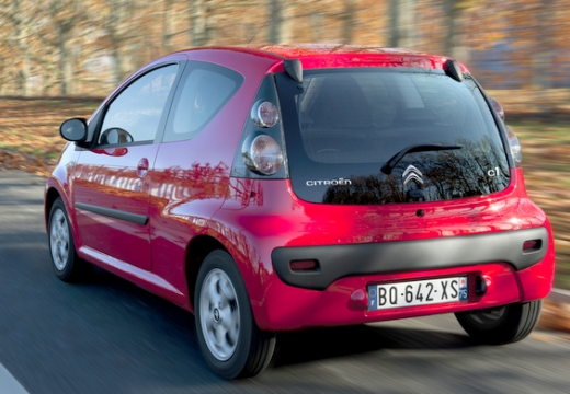 CITROEN C1 III hatchback czerwony jasny tylny prawy