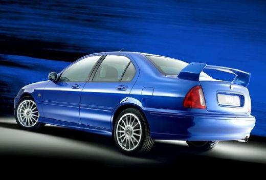 MG ZS sedan niebieski jasny tylny lewy