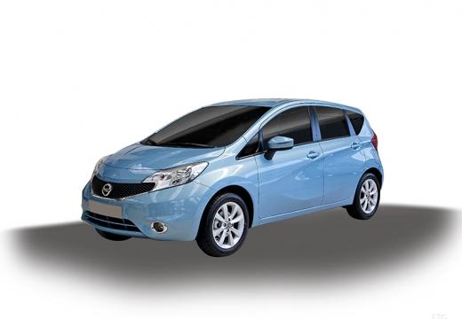 NISSAN Note III hatchback niebieski jasny