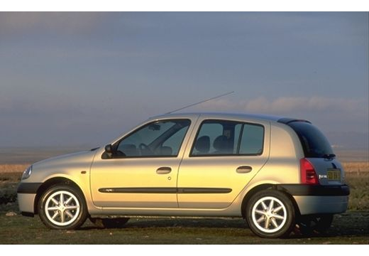 RENAULT Clio hatchback silver grey tylny lewy