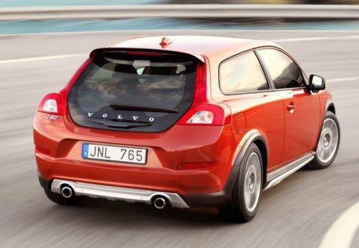 VOLVO C30 II hatchback czerwony jasny tylny prawy
