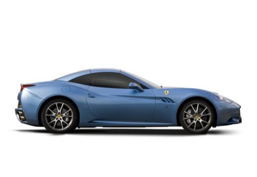 FERRARI California I kabriolet niebieski jasny boczny prawy