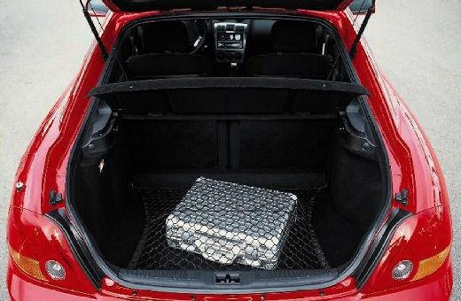 HYUNDAI coupe czerwony jasny przestrzeń załadunkowa