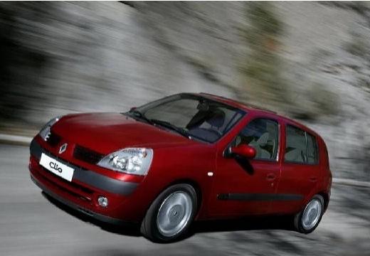 RENAULT Clio II III hatchback bordeaux (czerwony ciemny) przedni lewy
