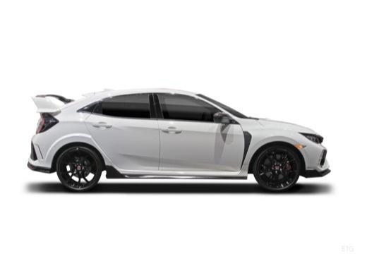 HONDA Civic X hatchback boczny prawy