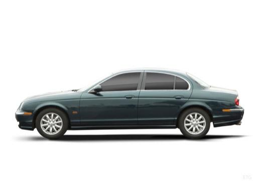 JAGUAR S-Type II sedan zielony boczny lewy