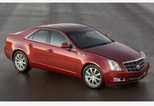 CADILLAC CTS sedan czerwony jasny przedni prawy