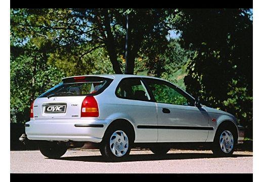 HONDA Civic III hatchback silver grey tylny prawy