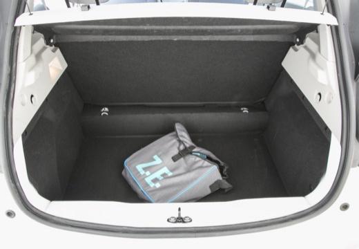 RENAULT ZOE hatchback przestrzeń załadunkowa