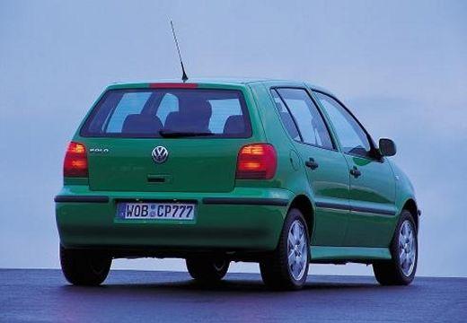 VOLKSWAGEN Polo III II hatchback zielony tylny prawy