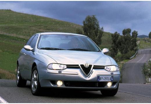 ALFA ROMEO 156 II sedan silver grey przedni prawy