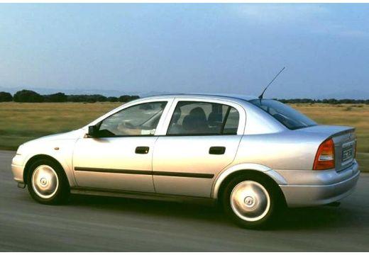 OPEL Astra II Classic sedan silver grey tylny lewy