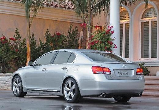 LEXUS GS II sedan silver grey tylny lewy