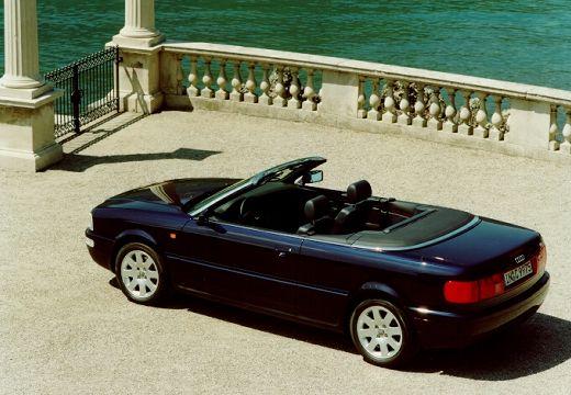AUDI 80 Cabriolet 89 kabriolet niebieski jasny tylny lewy