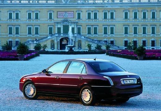 LANCIA Thesis I sedan bordeaux (czerwony ciemny) tylny lewy
